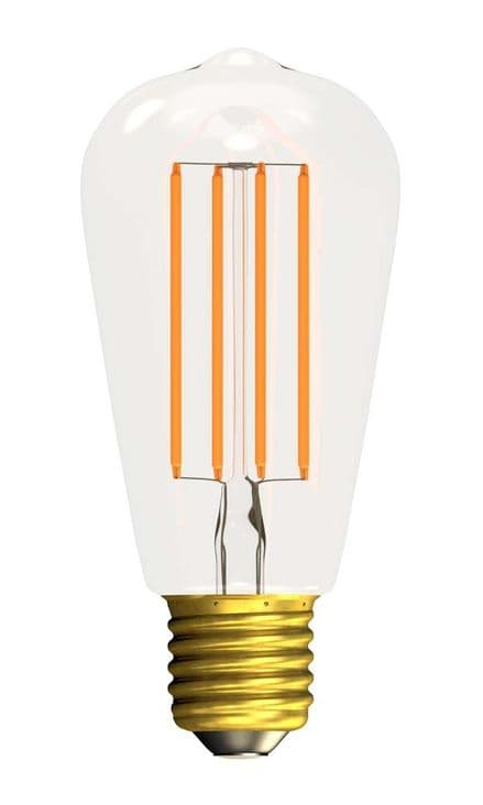 BELL 60133 4W LED Filament Squirrel Cage Clear Dimmable ES 2700K